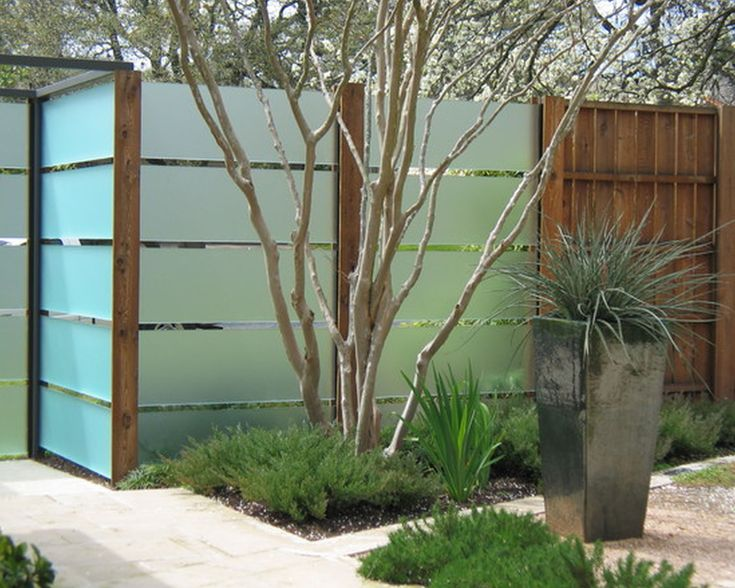 Cool Fence Ideas For Backyard aesthetic bamboo fencing ideas for yard parting and decor modern black bamboo fencing design black bamboo fence design ideas for your inspiration backyard Bing Cool Fence Ideas Fence Courtyard Garden Neutral Colors Cool Garden Ideas