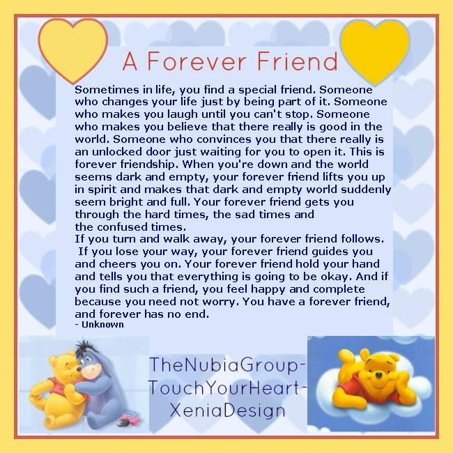 Friends Forever Quotes Poems : A forever friend quotes and poems
