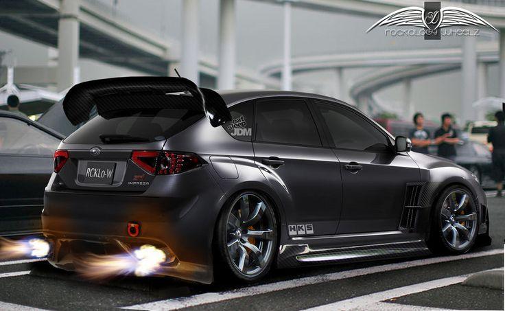 2012 Subaru Impreza WRX STi Hatch by RoCKoLoGY666
