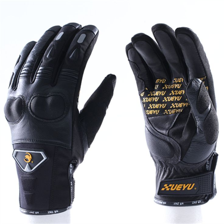 ==> [Free Shipping] Buy Best XUEYU New Motorcycle Gloves Leather Summer Winter Leather Gloves Guantes de Moto Luvas Alpine Motocross Stars luva motoqueiro Online with LOWEST Price | 32810899536