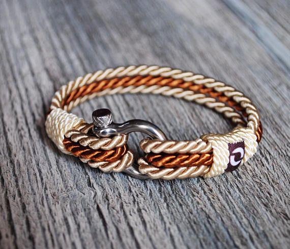 Cream Bracelet For Women Rope Bracelet For Men Unisex Rope
