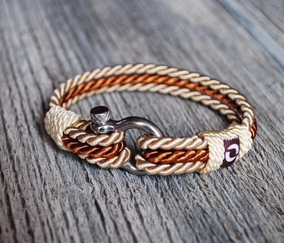 Cream Bracelet For Women Rope Bracelet For Men Unisex Rope