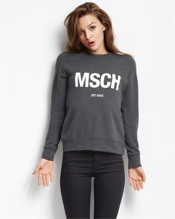 MSCH-sweatshirt (Grey/White)