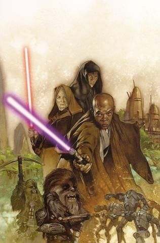 Star Wars Episode III: Revenge of the Sith 3 cover art by Dave Dorman