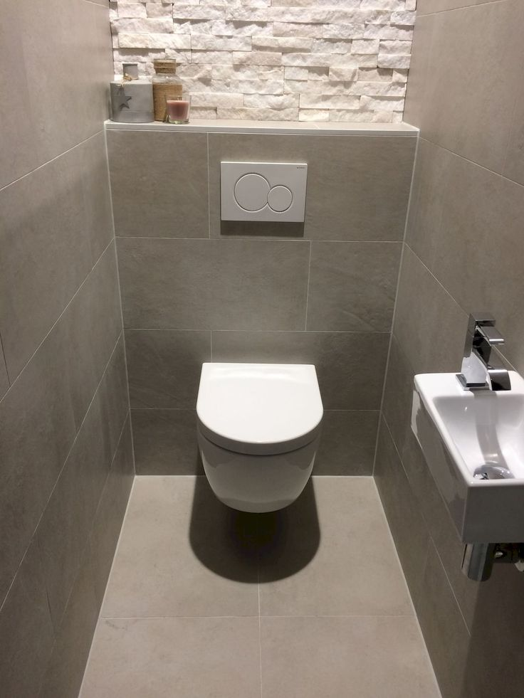 Space Saving Toilet Design for Small Bathroom