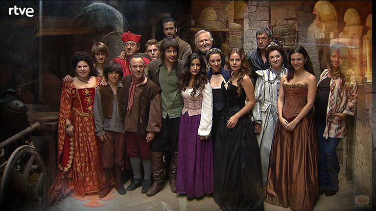 Aguila Roja cast- TVE1