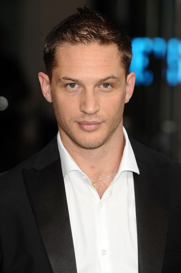 """Tom Hardy...just saw him in """"This Means War"""" and besides being gorgeous, OMG, have you heard his voice? WOW!"""