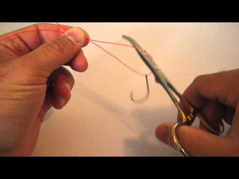 Clinch Knot Hemostats Trick Video Instructions | Fly Fishing Knot Hemostats