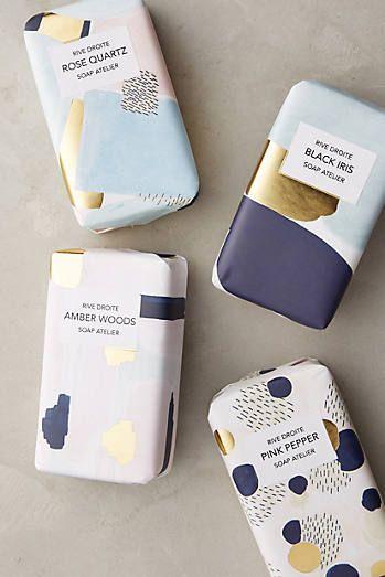 Artist Atelier Bar Soap. I love the graphic design.
