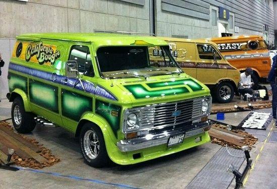 70s van uploaded to pinterest old custom vans pinterest chevy chevy vans and van. Black Bedroom Furniture Sets. Home Design Ideas