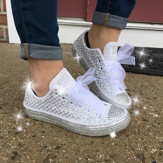 Best 25 Bedazzled converse ideas on Pinterest  Bedazzled