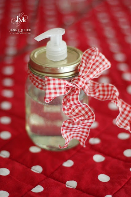 Mason Jar Hand Sanitizer Back-to-School Teacher Gift