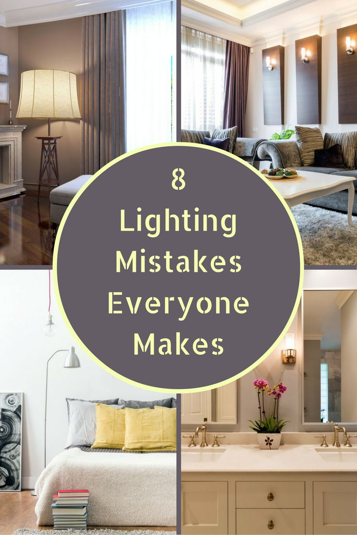 When it comes to residential lighting, many homeowners mistakenly believe that any light will do the same job. Overhead lighting, pendant lights, wall sconces, or lamps only work when they're used in the right context. With a little education, you can avoid the most common lighting mistake.