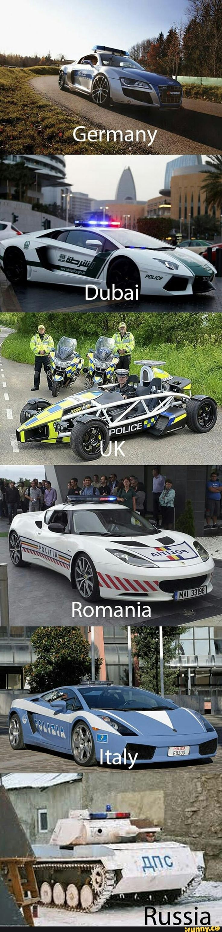 Funny pictures about cop cars around the world oh and cool pics about cop cars around the world also cop cars around the world photos