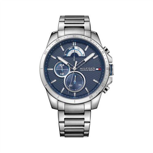 Herren-Multifunktionsuhr von TOMMY HILFIGER 1791348 https://www.thejewellershop.com/ #uhr #watch #tommyhilfiger #hilfiger #uhren #men #sportlich #jewelry #schmuck #chronograph