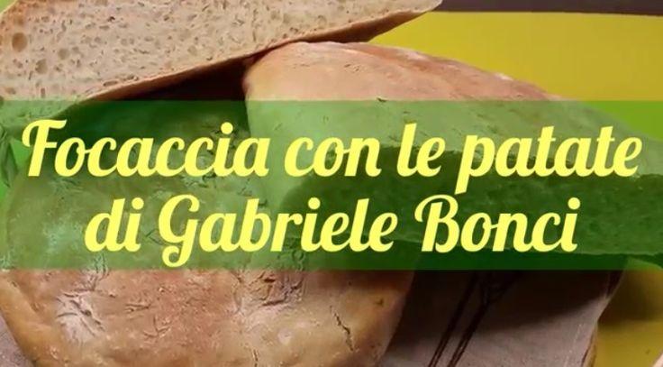 La video ricetta della focaccia con le patate di Gabriele Bonci. Da una ricetta di Gabriele Bonci. Ingredienti e procedimento.