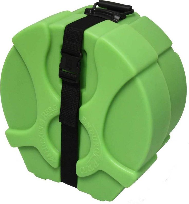 Humes & Berg Enduro Pro Lime Green EP475SP 6 x 14 Inches Snare Drum Case W/FOAM #HumesandBerg