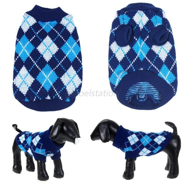 Winter-Pet-Dogs-Cat-Warm-Knitwear-Sweater-Small-Puppy-Coat-Apparel-Clothes-XS-L