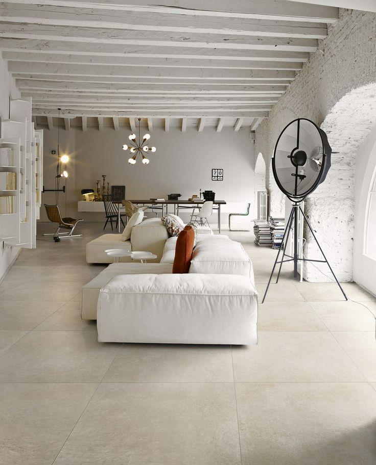 Pavimento/rivestimento in gres porcellanato effetto cemento MEMORIES - CERAMICA SANT'AGOSTINO