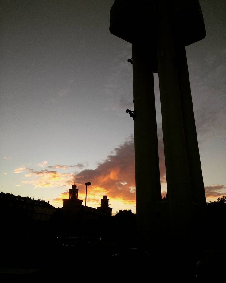 Sunset over Žižkov