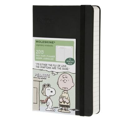 12 months - Peanuts Daily Planner - Pocket - Moleskine ®