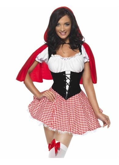 Red Riding Hood Costume, Fairytale costume, sexy costume, womens costume, smiffy's costume, halloween costume