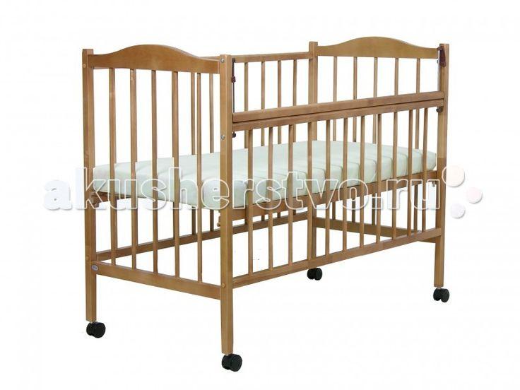 Детская кроватка Фея 203  Детская кроватка Фея203 изготовлена из натурального материала сбезвредным лакокрасочным покрытием.   Имеет прочную, легко собираемую конструкцию.Укроваткиимеются колеса, при помощи которых ее просто перемещать по комнате.  Перед молодыми новоиспеченными родителями очень часто встает актуальная проблема подбора детской кроватки. Интереснейшим домашним вариантом является модель Фея. Она изготовлена в особом дизайне, станет украшением каждого искусного интерьера…