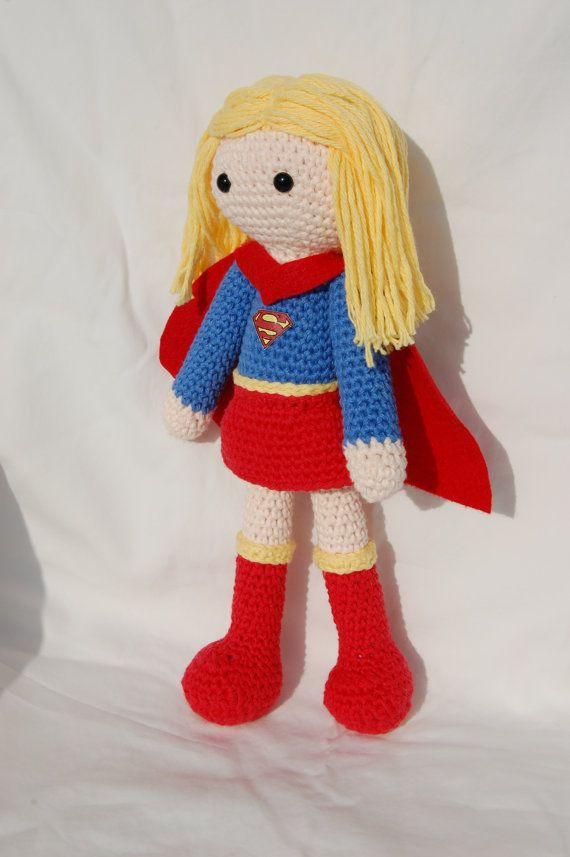 Supergirl Doll Nerdy Crochet Patterns/Projects ...