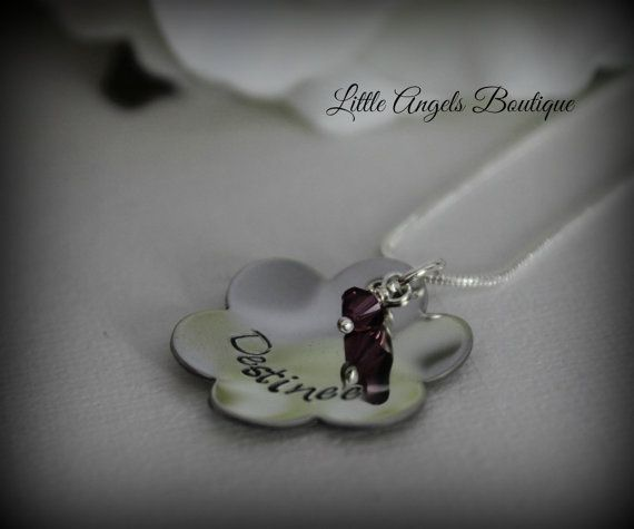 Flower Girl or Personalized Name Custom by littleangelsboutique