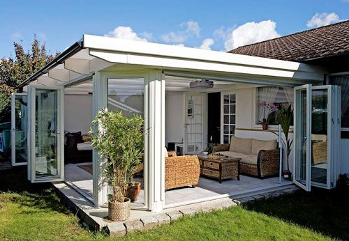 Säkra sommaren med ett uterum! | Uterum | Trädgård | viivilla.se