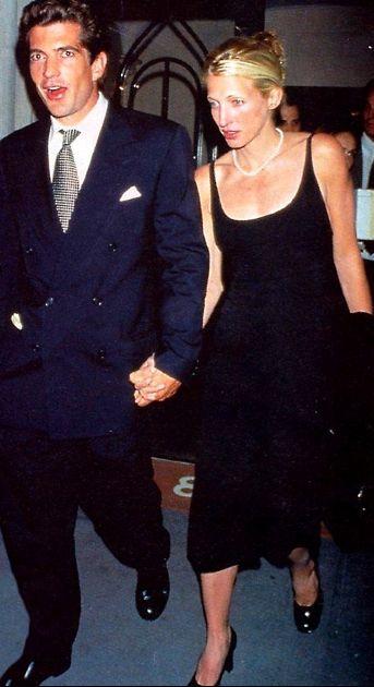 John Kennedy Jr  1960-1999 age 38 Carolyn Kennedy.  1966-1999 age 33 Died together in a plane crash.