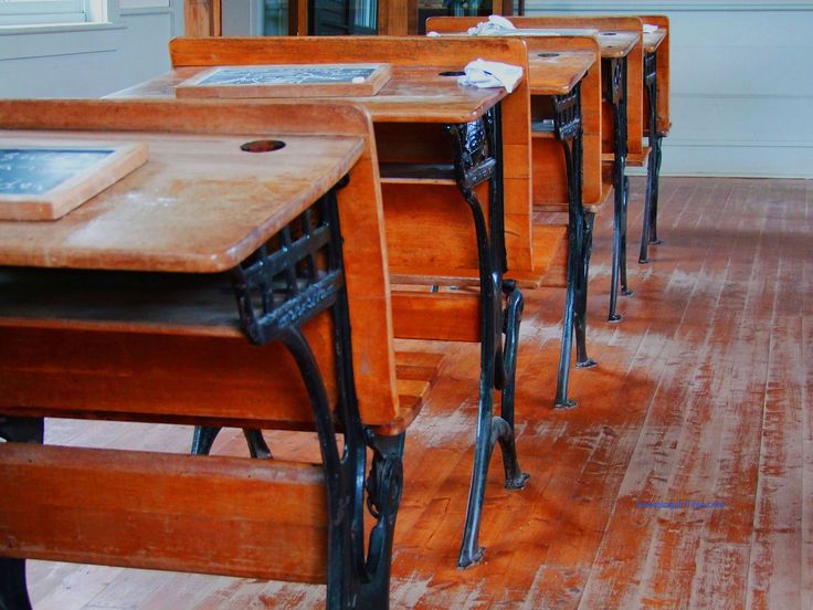 Our Old Grade School Desks Mckinley On Mclaughlin And Franklin Curtner In San Jose Note Hole For Ink Bottle Plus A Slot