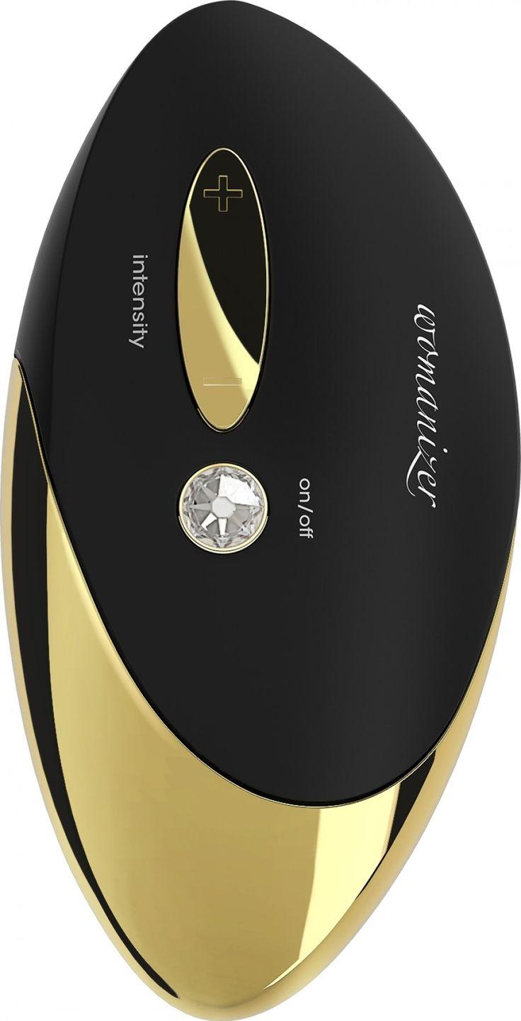 Womanizer Pro - luxus csiklóizgató (18 karátos arannyal).
