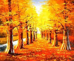 Resultado de imagen para paisajes en bosques en otoño