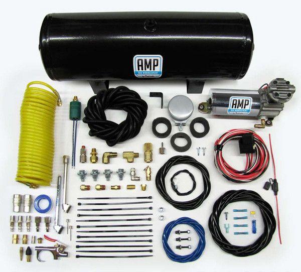 Pacbrake HP10164 - 2½ GALLON AMP AIR TANK & HP325 SERIES AMP AIR COMPRESSOR
