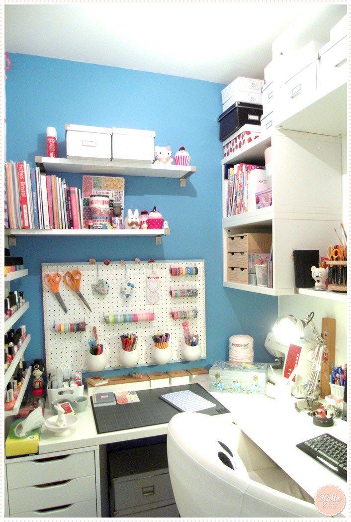 les 25 meilleures id es de la cat gorie placard transform en bureau sur pinterest bureau. Black Bedroom Furniture Sets. Home Design Ideas