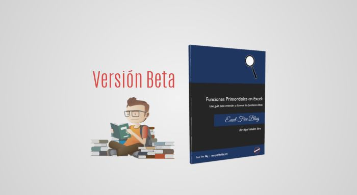 Para ser un experto en el manejo de Excel y aprovechar el máximo de su potencial, es fundamental saber utilizar un grupo selecto de Funciones Primordiales (BUSCAR, BUSCARV, BUSCARH, AGREGAR, INDICE, COINCIDIR, TEXTO, FRECUENCIA, DESREF y SUMAPRODUCTO), en esta guía, la cual es la primera versión beta para un futuro libro, que puedes descargar completamente gratis, exploraras y descubrirás algunas de las funciones primordiales para que las integres en tu trabajo,