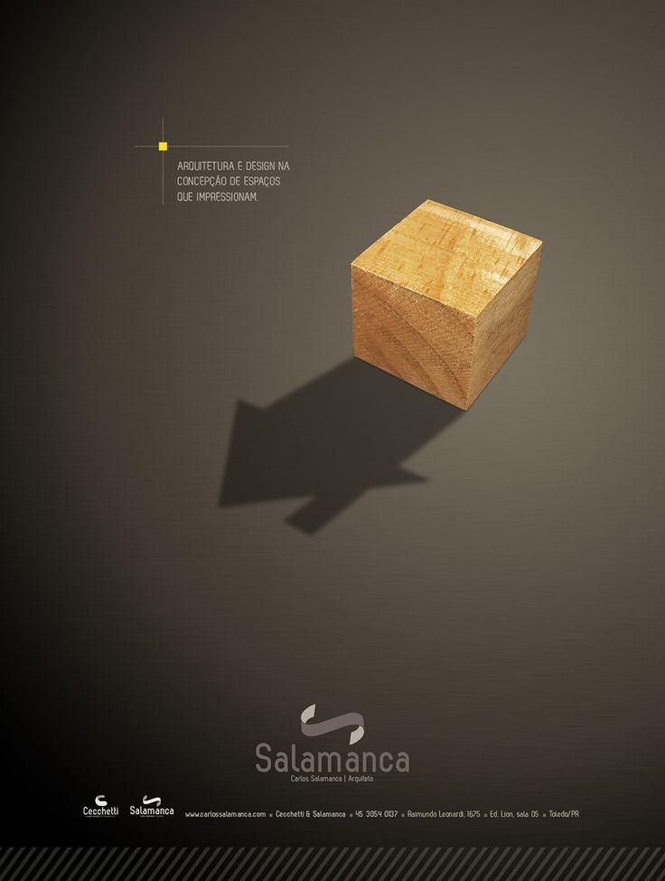 Anúncios de revista para a Salamanca Arquitetura