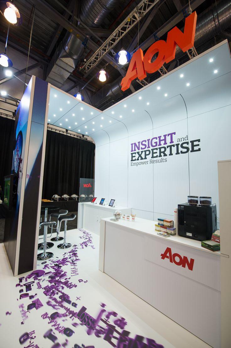 Aon AIRMIC 2015 Exhibit DesignExhibition StandsExhibitions
