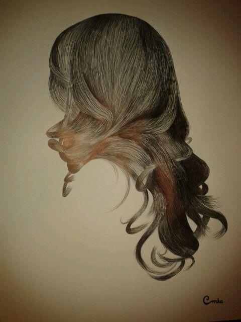 Hair, art