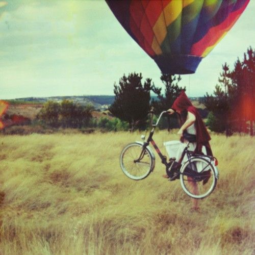 So amazing: Photos, Hot Air Balloon, Bicycles, Darascully, Bike, Little Red, Red Riding Hood, Photography