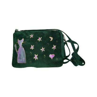 Painted leather clutch, ipad case, wallet, travel bag, genuine leather women clutch, mini bag,