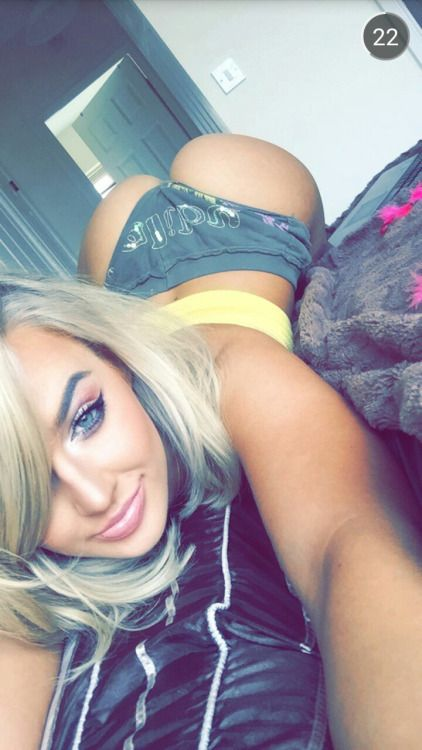 Blonde face down ass up
