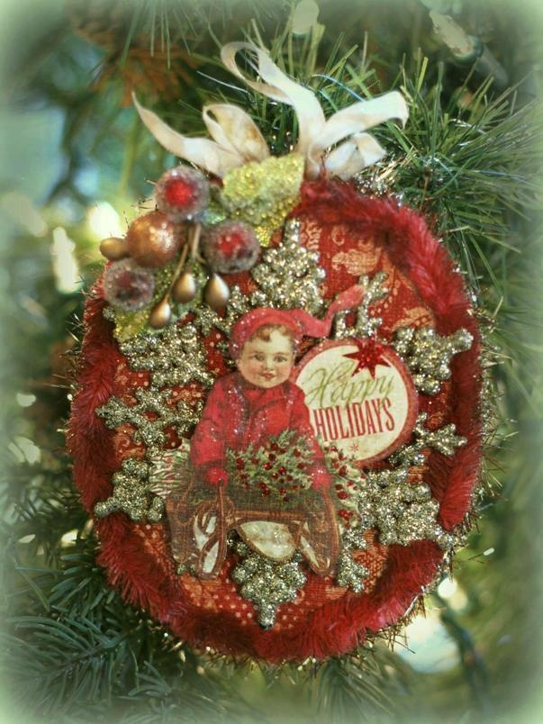 Victorian ornament by Nancy Malay