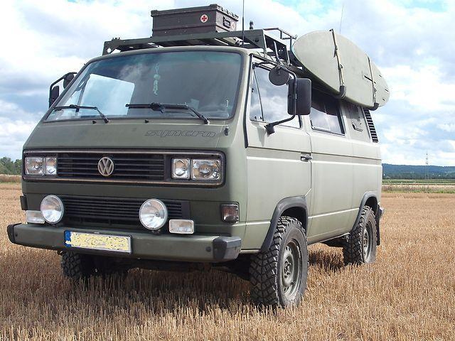 volkswagen transporter 4x4 military