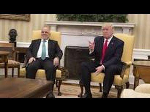 Trump promete acelerar ayuda a Irak en su lucha