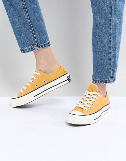 9eee4a62f53 Converse Chuck  70 ox sneakers in Mustard yellow in 2019