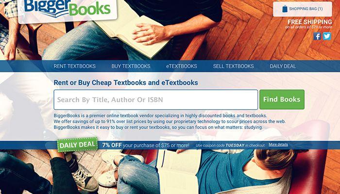 Textbook Rentals form Biggerbooks- A Review  #BiggerBooks #TextbookRentals http://gazettereview.com/2016/09/a-review-of-biggerbooks-textbook-rentals/