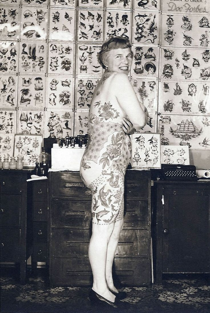 Elizabeth weinzirl was known in the tattoo world as the for Tv show with tattooed woman