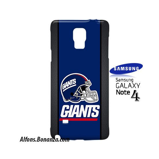 New York Giants Helmet Samsung Galaxy Note 4 Hardshell Case
